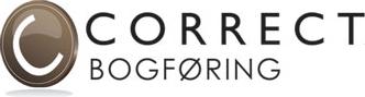 Correct Bogføring Logo